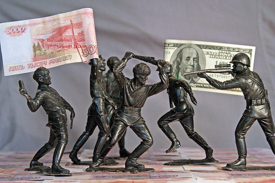Рубль падает из-за геополитики