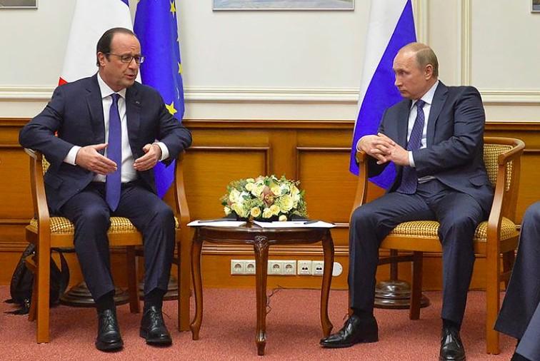 Олланд считает, что встреча с Путиным даст результаты в ближайшие дни