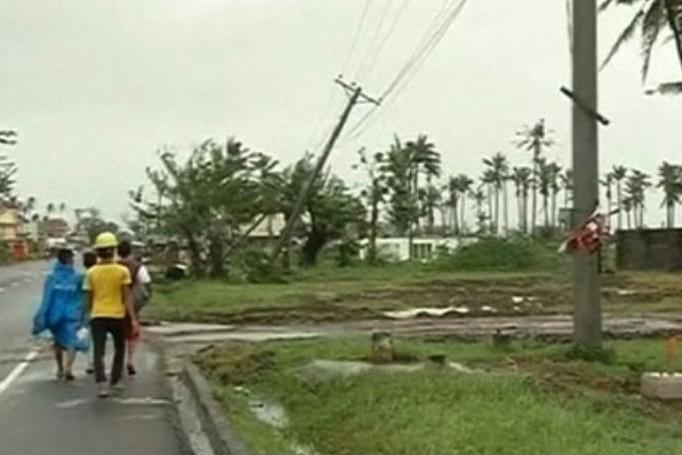 Более 1 млн человек эвакуированы из-за тайфуна на Филиппинах