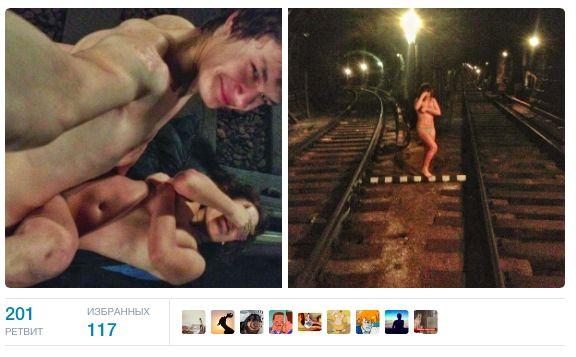 сексом занимаются в метро