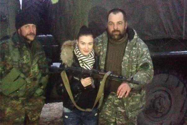 Приходько отказалась выступать перед украинскими солдатами