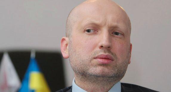 Турчинов стал новым главой Совбеза Украины