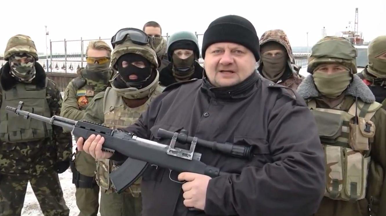 Кадр из видео-обращения Мосийчука к Кадырову