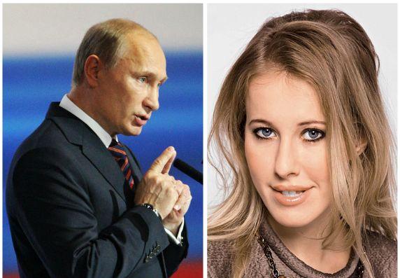 Собчак готовится к встрече с Путиным