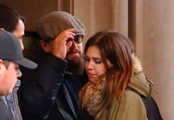 ДиКаприо застукали с девушкой Абрамовича - Дашей Жуковой