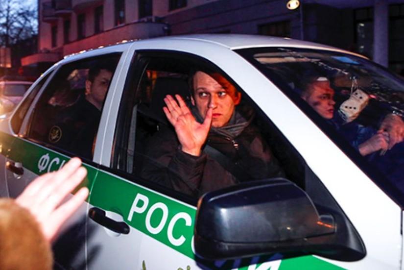 Навального заперли в спецблоке «Матросской тишины». На прощание он сказал, чего стоит бояться