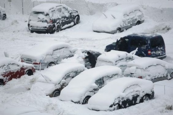 Спасатели ожидают ЧС на дорогах Москвы из-за снегопада