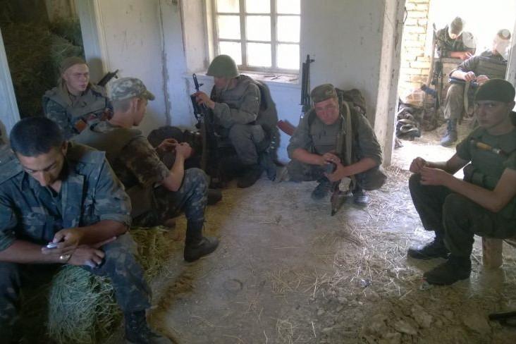 В Донбассе подорвались украинские командиры