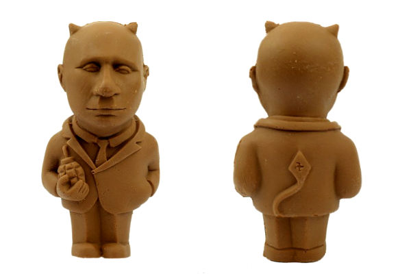 На Украине продают шоколадного Путина - черта