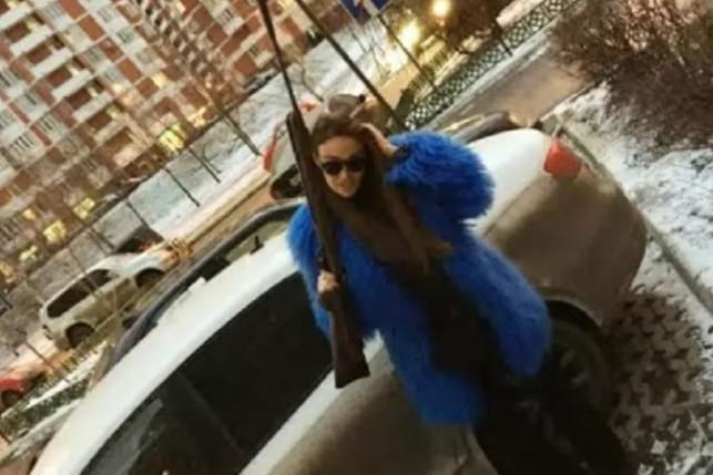 Водонаева шокировала народ фото с ружьем