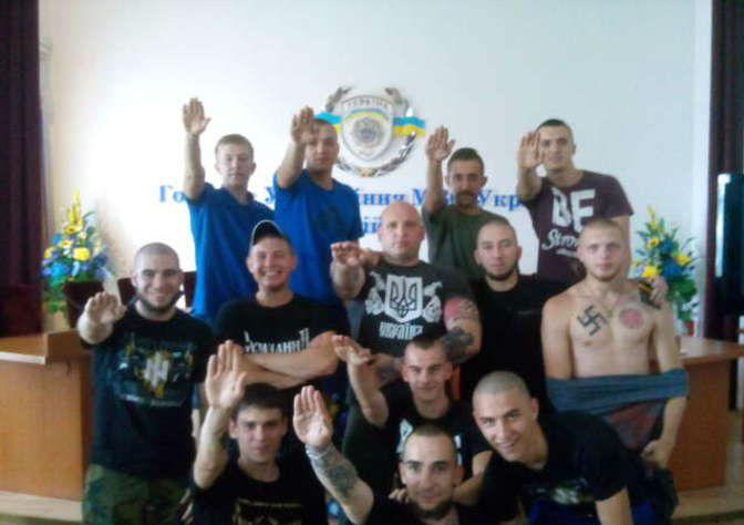 Бойцы отряда