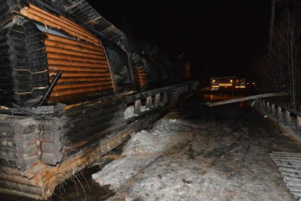 14-летний лыжник сгорел заживо в спорткомплексе