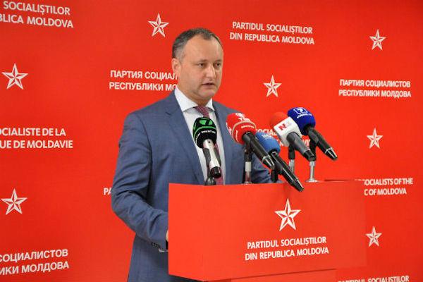 Социалисты Молдавии побеждают на выборах в парламент с 21,6 процентами голосов