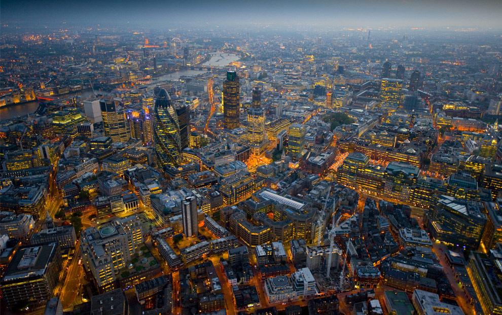Воздушное пространство над Лондоном закрыто