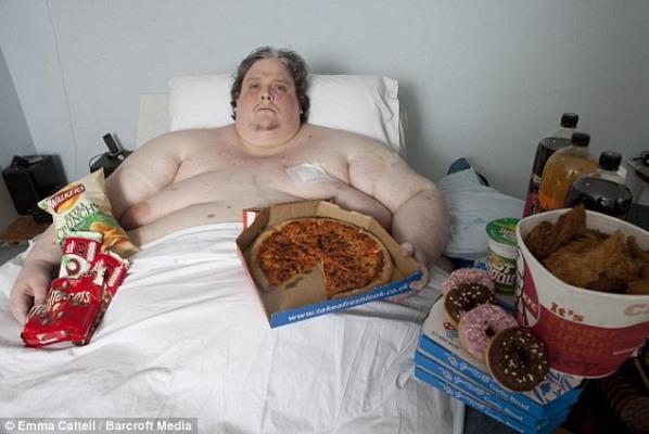 Умер самый толстый человек в мире