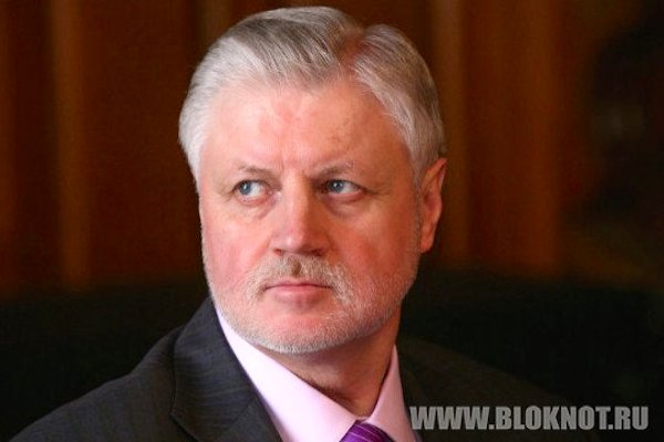 Сергей Миронов встретится в Донецке с депутатами Народного совета ДНР