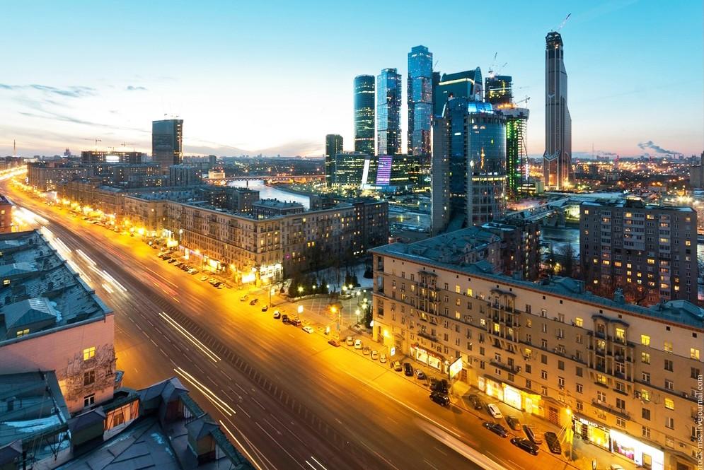 Под Новый год в Москве исчезли пробки