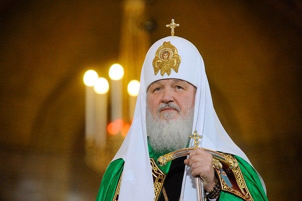 Патриарх Кирилл молится о прекращении междоусобной брани