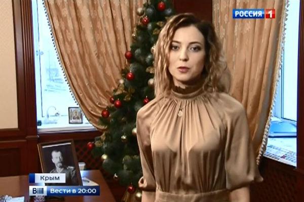 Наталья Поклонская записала новогоднее обращение к россиянам