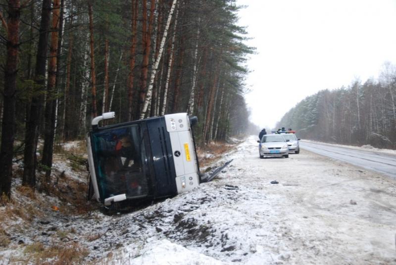 Автобус с украинцами разбился в Белгородской области