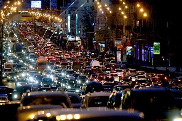 В Москве зафиксированы исторические пробки