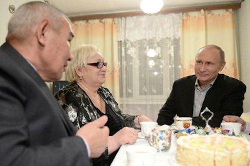 Путин еще не определился с местом празднования Нового года