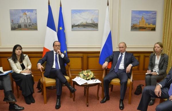Олланд: Россия и Франция избавятся от напряженности в отношениях