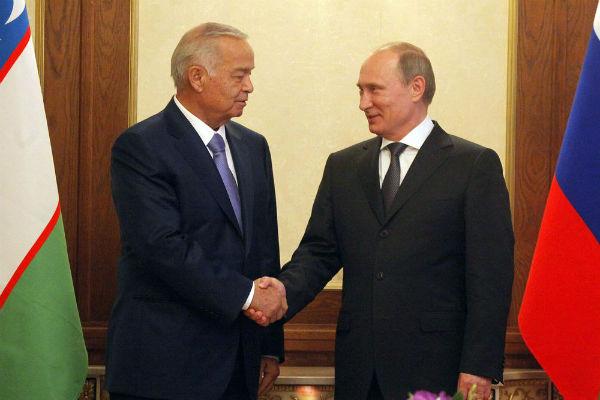 Путин прибыл с визитом в Узбекистан