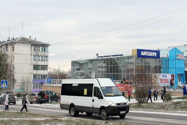 В Красноярском крае забастовали водители маршруток