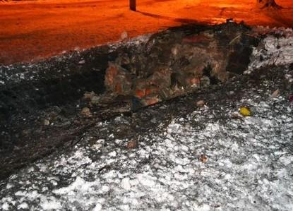 В Харькове взорвали памятный знак УПА