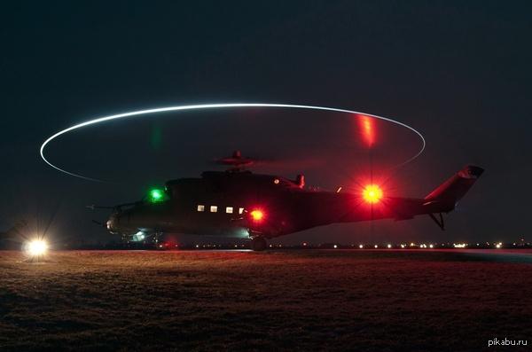 Ночью была замечена странная активность вертолетов в небе над Москвой