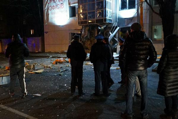 В Одессе взорвали волонтерский пункт помощи украинским силовикам