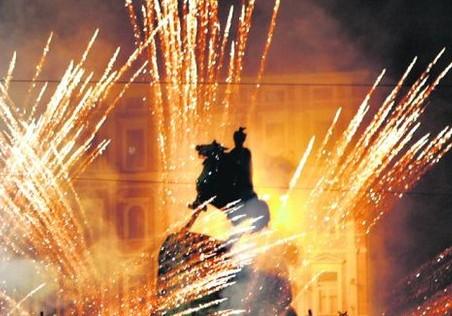 Украинцев призвали отказаться от фейерверков на Новый год