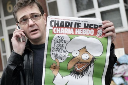 В числе убитых в Париже оказался главред и автор скандальных карикатур