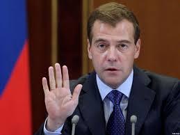 Медведев пригрозил увеличить цену электроэнергии для Украины