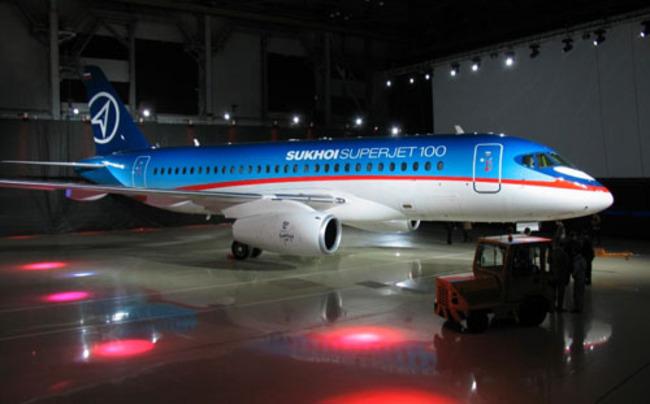 Аэрофлот купит 20 самолетов Superjet 100