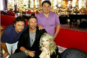 Звезды на концерте Стаса Михайлова в Дубаях