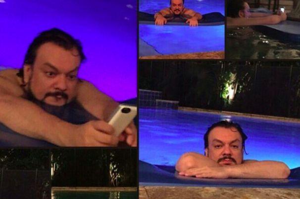 Филипп Киркоров устроил фотосессию в бассейне