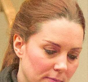Герцогине Кембриджской запретили пользоваться косметикой