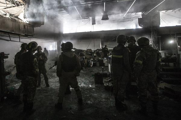 Батальон отказался штурмовать донецкий аэропорт