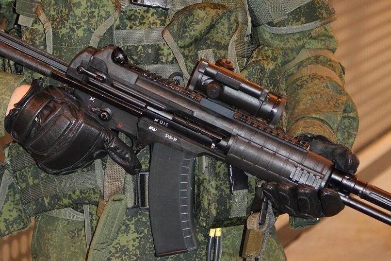 Новый автомат Калашникова заступает на службу отечественной армии