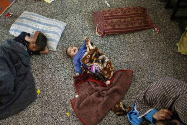 В секторе Газа от холодов погибли двое детей