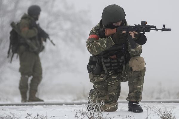 Батальон «Донбасс» расстреляли в засаде под Дебальцево