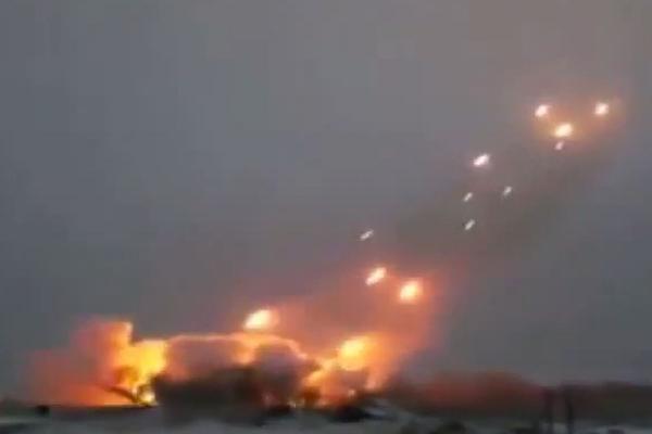 «Грады» нанесли мощнейшие удары по Донецку