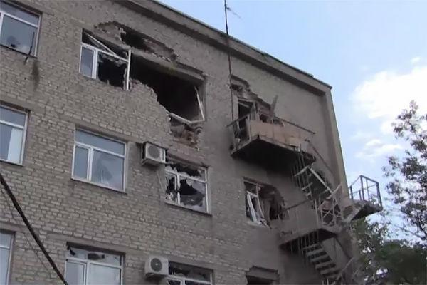 Воздушные силы Украины нанесли удар по Горловке