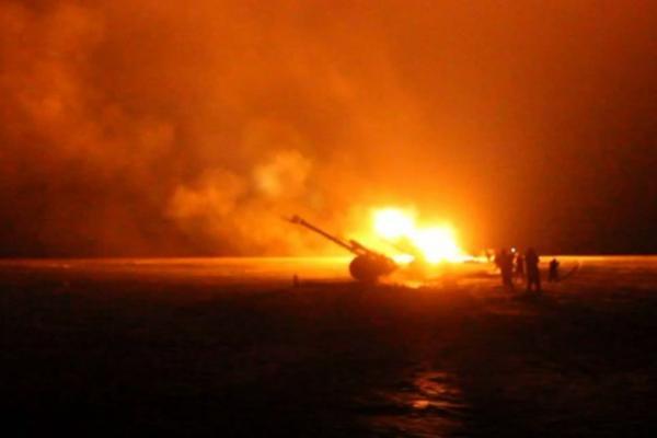 «Грады» ополченцев ударили по блокпостам Мариуполя