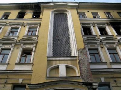 В Москве сносят здание, где выступал Сергей Есенин