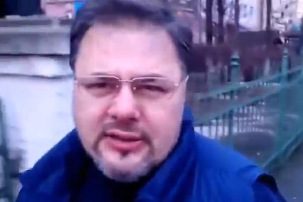 Украинский журналист начал акцию «Я отказываюсь от мобилизации»