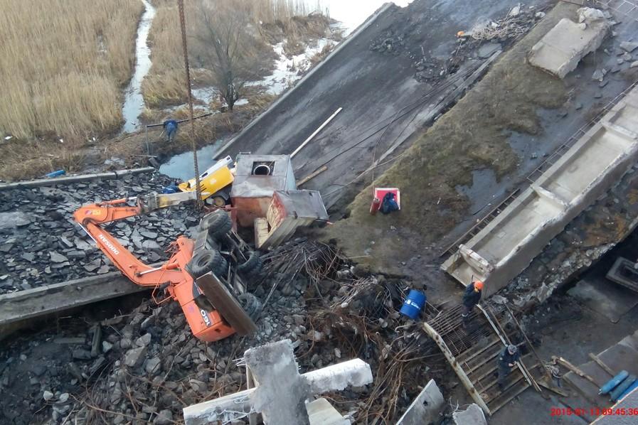 В Калининграде рухнул Берлинский мост