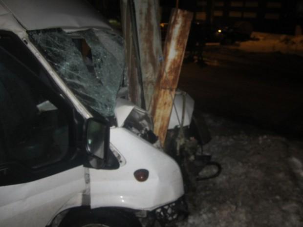 Водитель маршрутки угробил пассажира, скрываясь от ГИБДД